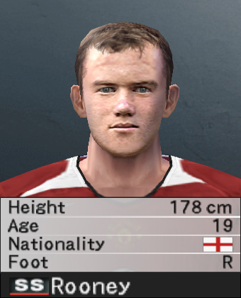 Rooney PES 2008
