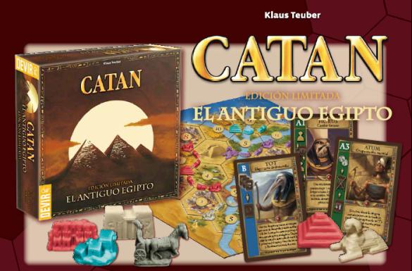 Devir confirma el lanzamiento de Catan El Antiguo Egipto en castellano