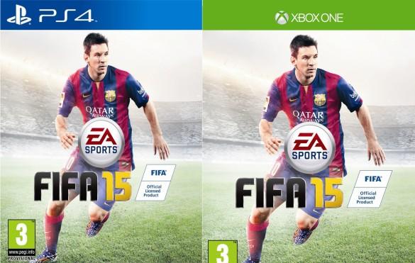 FIFA 15 portada