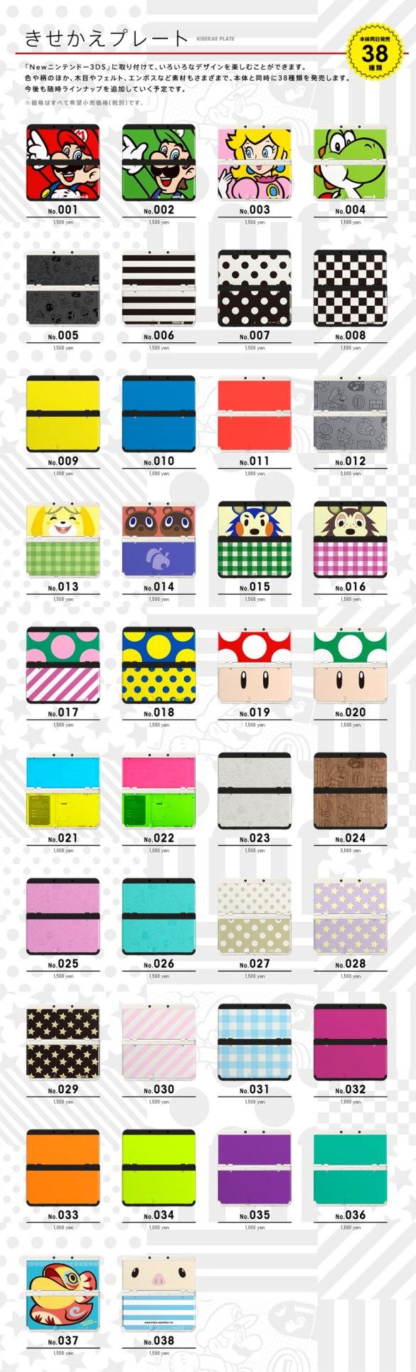 Carcasas Nintendo 3DS
