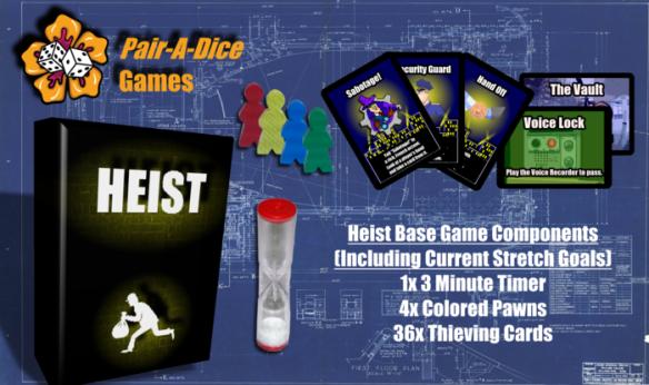 Heist Card Game