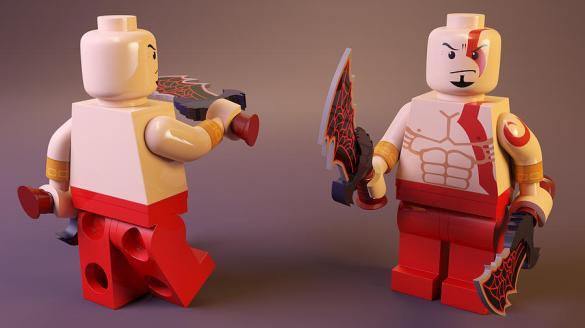 Kratos Lego