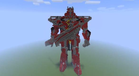 Minecraft Centinel Prime