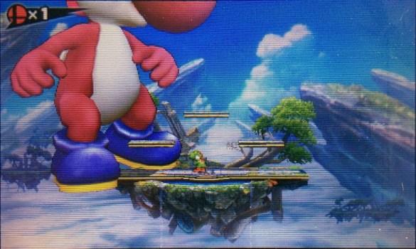 Error Yoshi Super Smash Bros