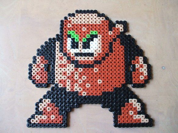 Hama Beads Woodman
