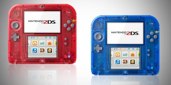 Nintendo 2DS Transparentes