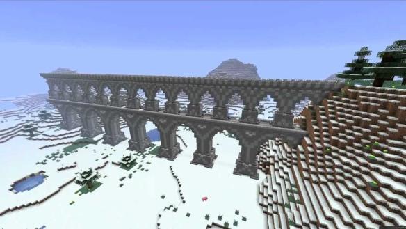 Aqueducto Minecraft