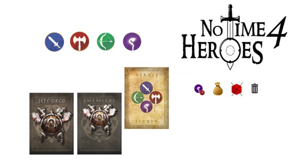 No Time For Heroes print and play