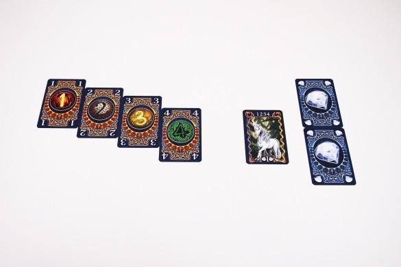 Tras activar el unicornio, el jugador recibe un punto de poder y dos diamantes.