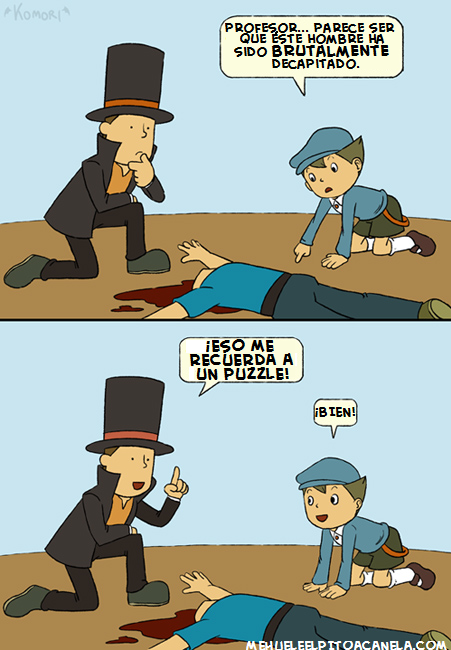 Humor Videojuegos Layton Luke