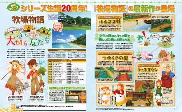 Story of Seasons Good Friends of Three Villages