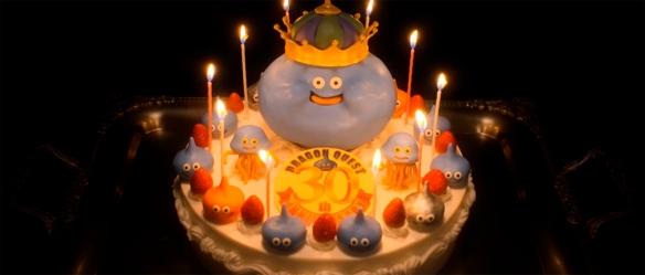 Dragon Quest cake