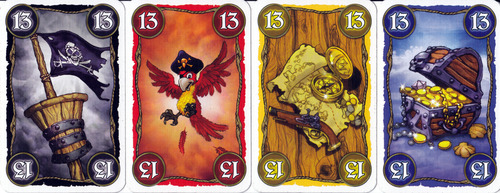 Cartas de los cuatro colores, en su edición original.